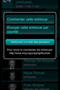 Commenter - exposition Copyright humain