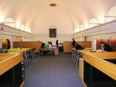 Salle de consultation du Centre de référence de l'Amérique française, 2010.