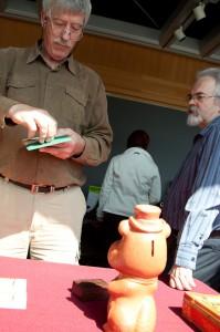 Guy Toupin et Michel Laurent, conservateurs.