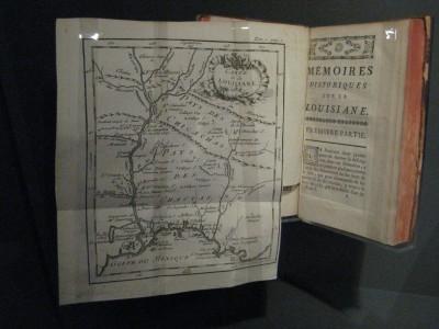 Mémoires historiques sur la Louisiane, contenant ce qui y est arrivé de plus mémorable depuis l'année 1687 [...]. François-Benjamin Dumont de Montigny. 1753. Centre de référence de l'Amérique française, QMUCSQ026826.