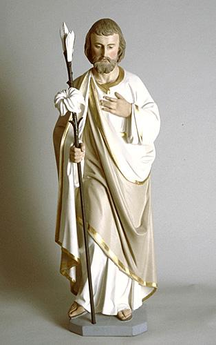 Sculpture. Saint-Joseph, Louis Jobin, Musée national des beaux-arts du Québec, 75.385.