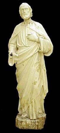 Statue religieuse Saint-Joseph, Louis Jobin, Musée du Bon-Pasteur, b.2003.751.1-2.