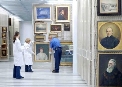 La collection de peintures conservée à la RMCN renferme des trésors d'histoire et de beauté.