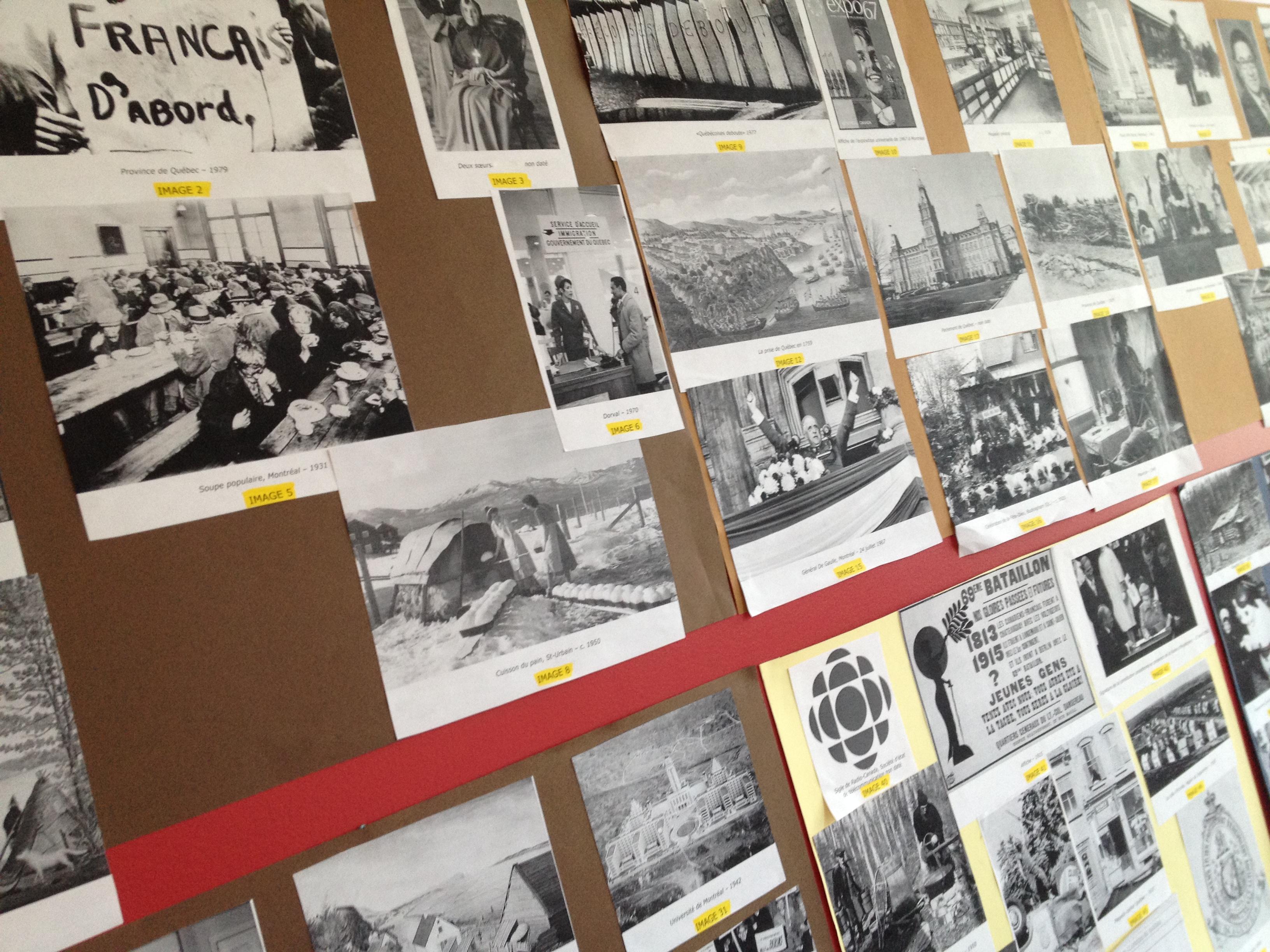 Le « mur des représentations »