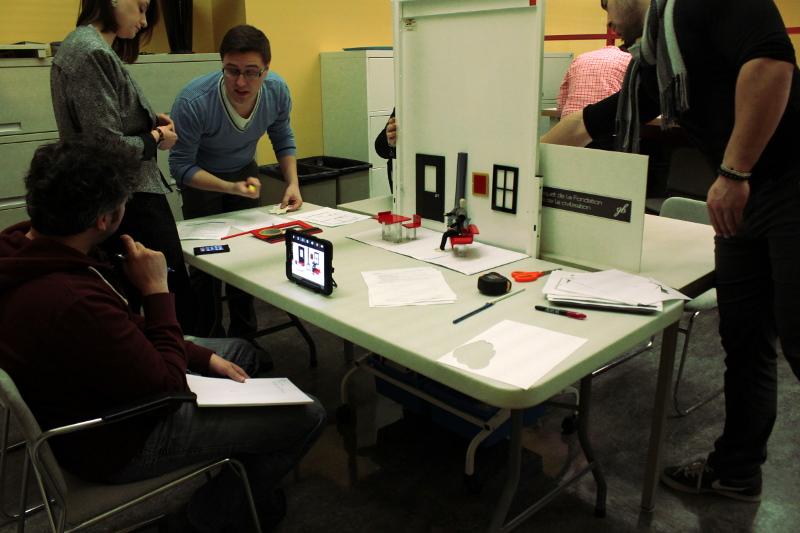 Prototyper la station de création de films d'animation.