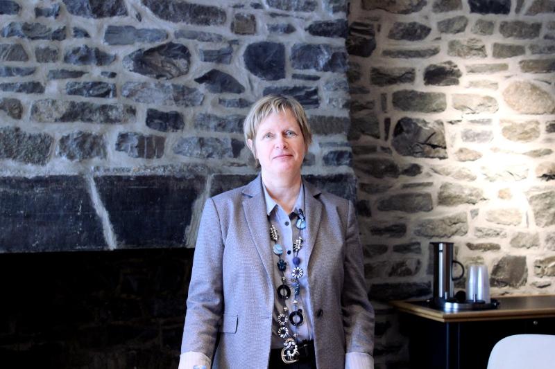 Lucie Daignault, responsable de l'évaluation aux Musées de la civilisation.