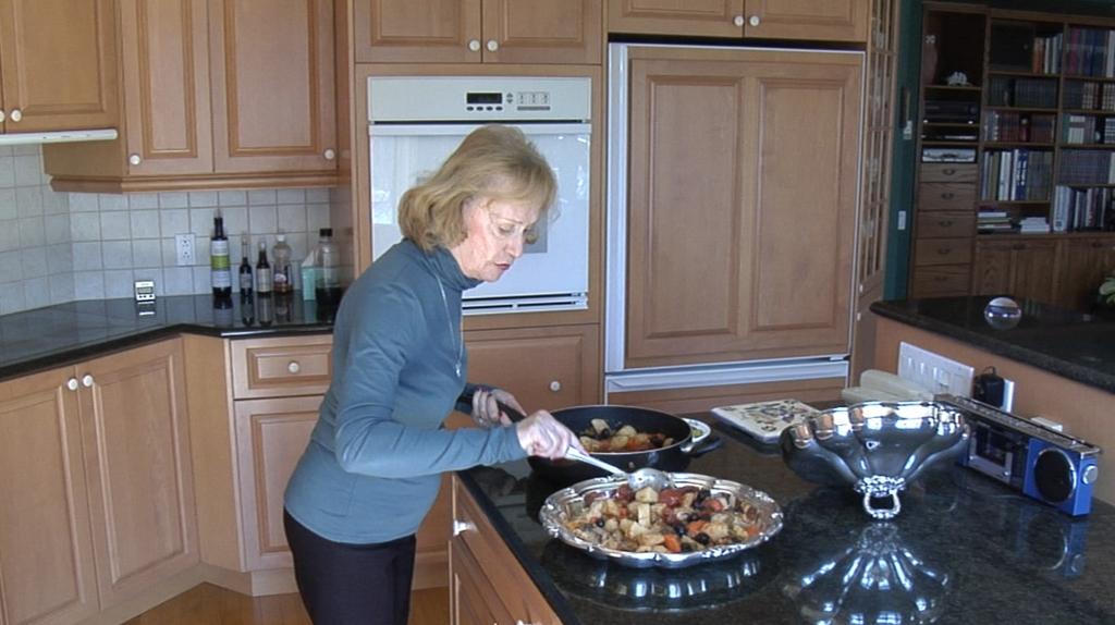 Yvonne Tremblay Gagnon, participante au Recueil de gestes pour nourrir