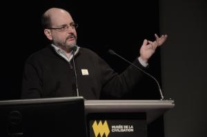 Benoît Melançon, professeur de littératures de langue française à l'Université du Québec à Montréal.