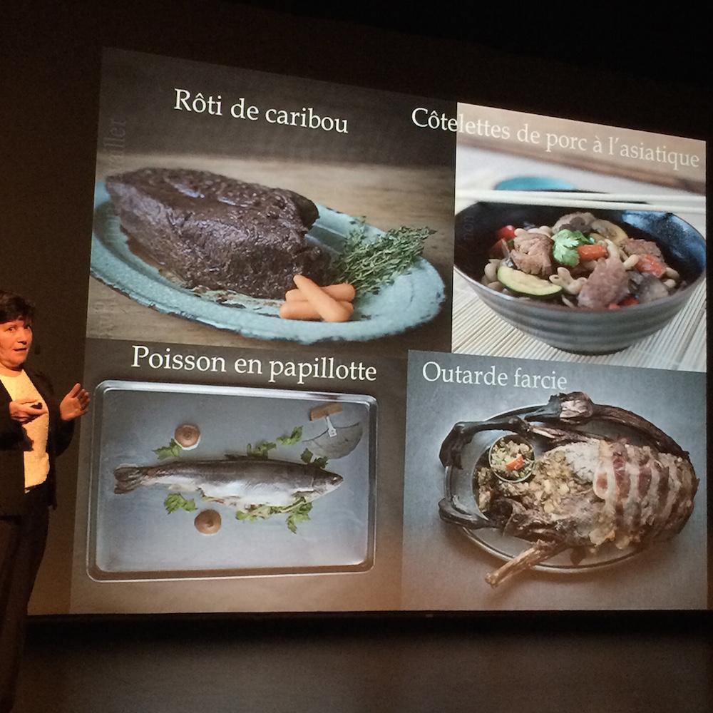 Livre de recettes familial / ᓄᓇᕕᒻᒥ ᐃᓚᒌᓄᑦ ᓂᕐᓯᐅᑏᑦ de Huguette Turgeon-O'Brien, professeure à l'école de nutrition de l'Université Laval