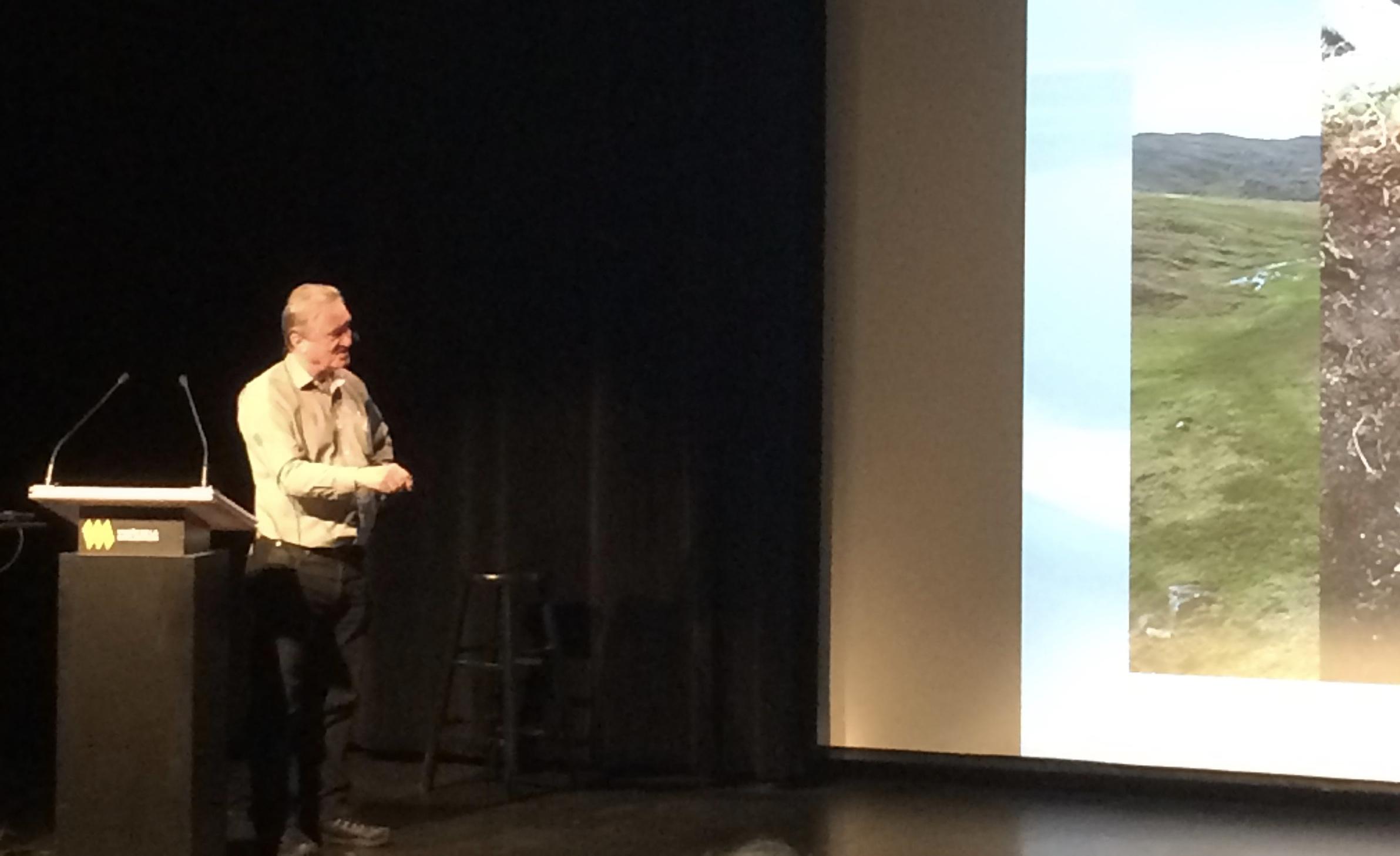 Michel Allard, professeur de géographie à l'Université Laval