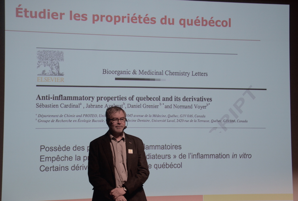 Normand Voyer, professeur de chimie à l'Université Laval