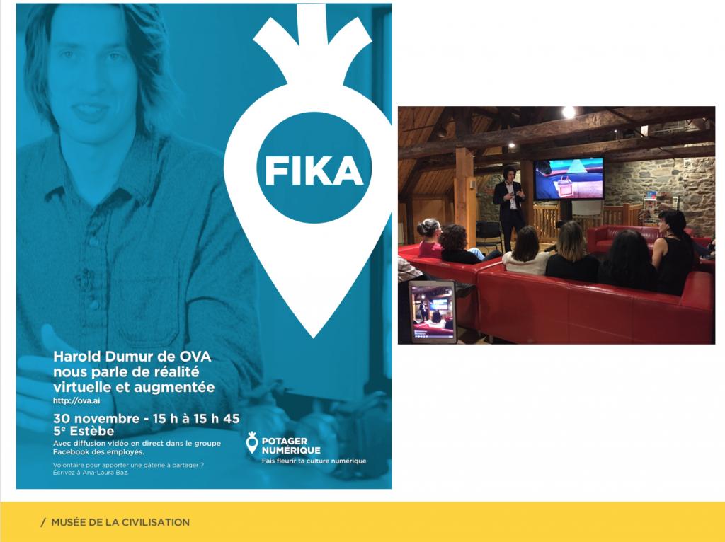 affiche d'un FIKA